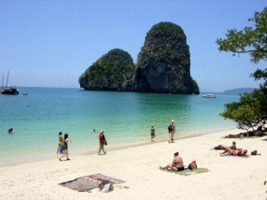 Railay Beach Krabi thailande