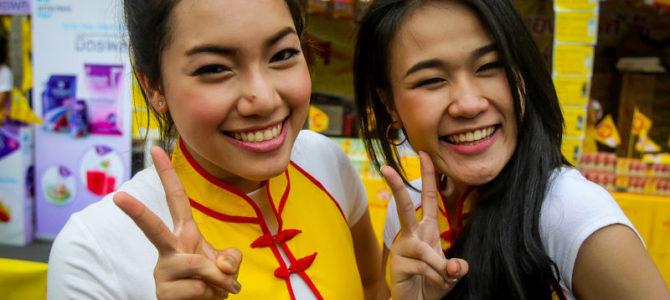 Le fameux sourire thaï est encore authentique