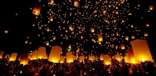 La Thaïlande entière va célébrer Loy Krathong