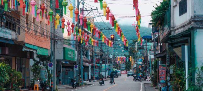Mae Sariang, petite ville du Nord proche de la frontière birmane