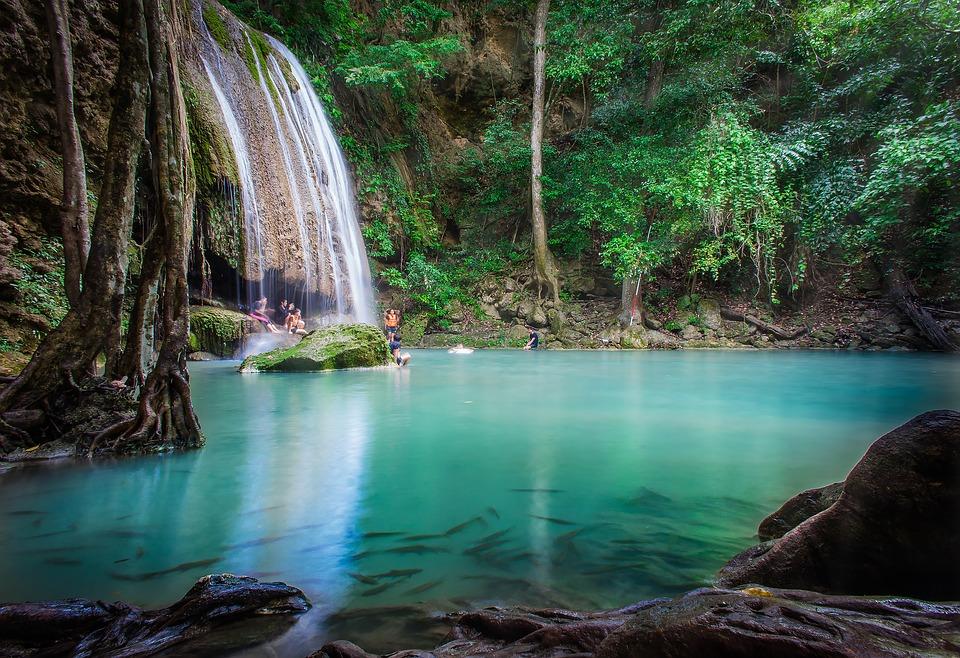 Visiter le parc national d'Erawan en Thaïlande
