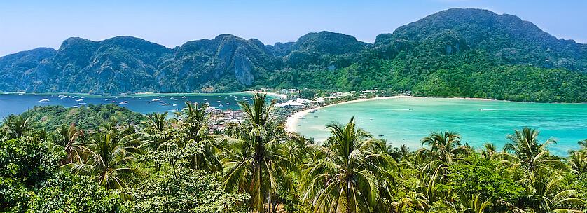 Découvrez les îles Phi Phi ou Koh Phi Phi en Thailande